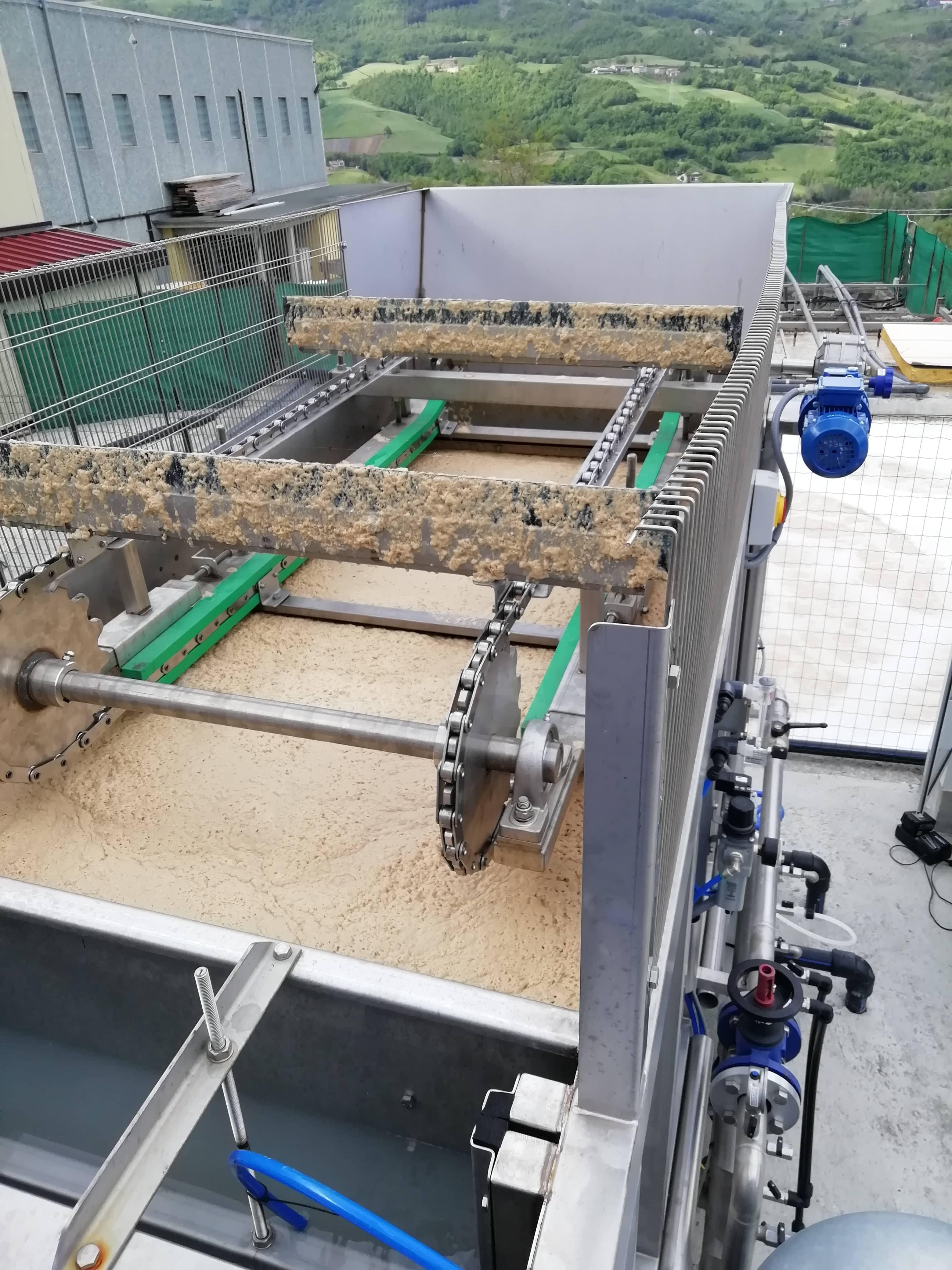 Potenziamento impianto di depurazione per caseificio