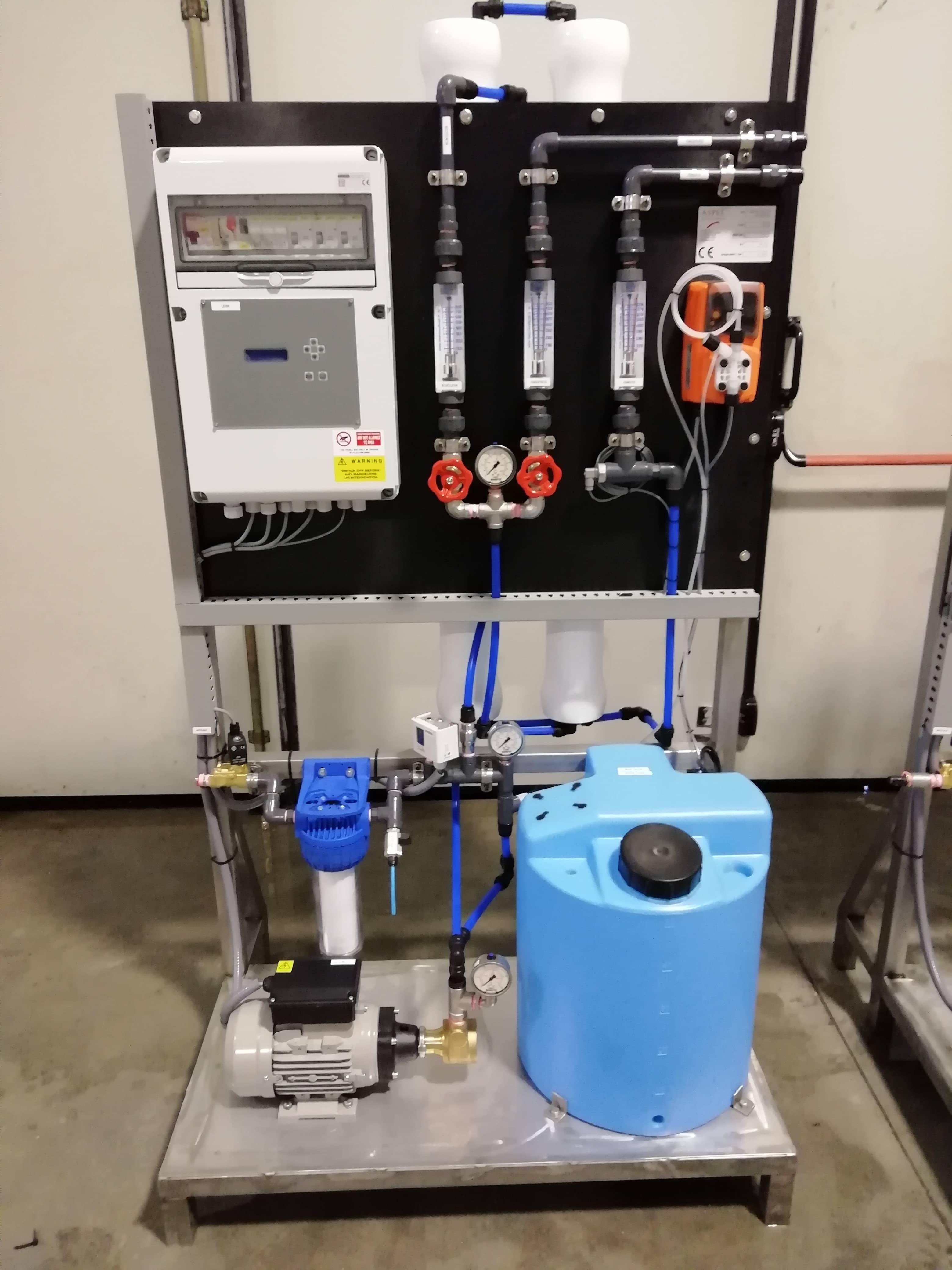 impianti trattamento acque di processo